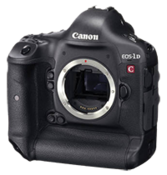 25p frame rate support announced for the Canon EOS-1D C