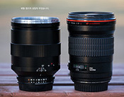 Zeiss 135mm f/2 Apo Sonnar vs Canon EF 135mm f/2L