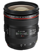 Canon EF 24-70mm f/4L IS reviewed at Photozone