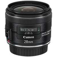 Canon EF 28mm f/2.8 IS for $519 shipped