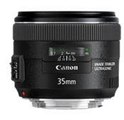 Canon 35mm f/2 IS in Stock!