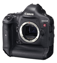 Huge price drop: Canon EOS-1D C at $4,999!