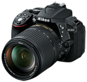 Official: Nikon D5300 DX-Format DSLR announced!
