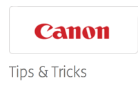 Canon CPN weekly Tips and Tricks
