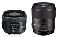 Photozone just posted reviews on the Canon EF 35mm f/2 IS and Sigma 35mm f/1.4 HSM DG Art lenses