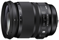 Sigma 24-105mm F4 lens price announced ($899)