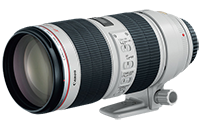 Canon EF 70-200mm f/2.8L II for $1899 + 4% rewards
