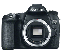 Canon EOS 70D for $949 at B&H Photo
