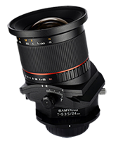 Samyang posted video on benefits of Tilt and Shift lenses