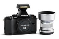 Deal: Olympus E-M5 with 45mm lens and flash for $999!