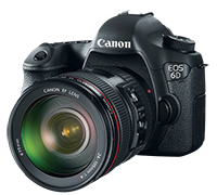 Canon EOS 6D + 24-105L for $1,999 at B&H Photo