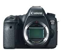 Canon EOS 6D DSLR body for $1,608.77 shipped