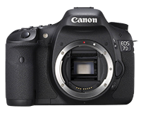 Canon EOS 7D DSLR body for $825
