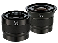 Zeiss Touit lens discounts