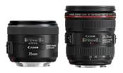 Canon EF 24-70mm f/4L IS & EF 35mm f/2 IS technical report