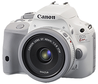 Canon EOS Kiss X7 / 100D / Rebel SL1 (White) announced