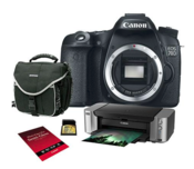 Adorama deal: Canon EOS 70D Bundle for $799