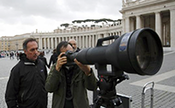Nikkor 1200-1700mm f/5.6-8 to capture new Pope!