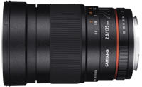 Samyang/Rokinon 135mm f/2 ED UMC officially announced!