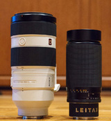 Sony FE 100-400/4.5-5.6 GM vs Contax 100-300/4.5-5.6