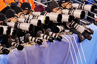 Super Bowl Sunday: 75% of shooters using Canon gear