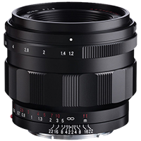 In stock! Voigtlander Nokton 40mm f/1.2 for $1,059