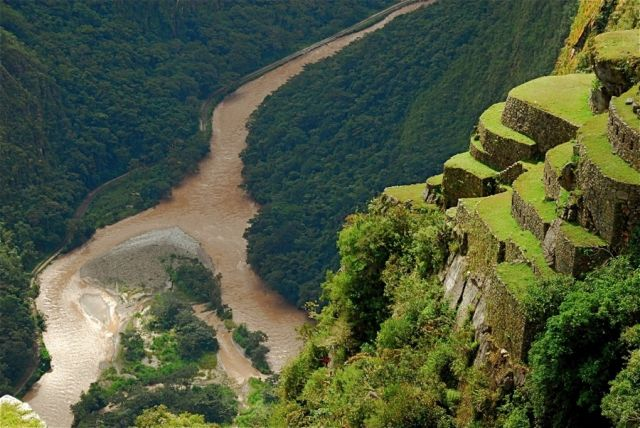 Urubamba River Urubamba River Gorge  Photo