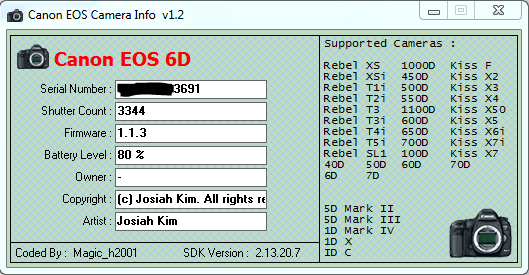 how to connect canon 6d to iphone