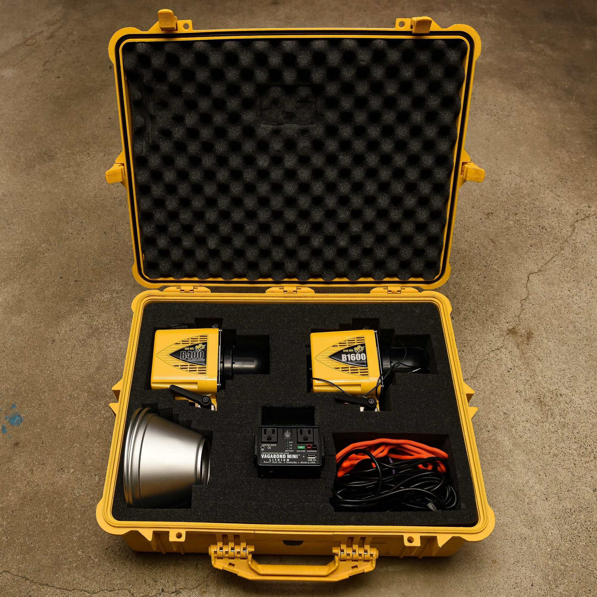 Using Alien Bees At Weddings: Sold: Alien Bees Strobes, Lithium Pack, And Pelican Case