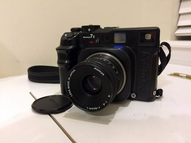 how to clean a mamiya