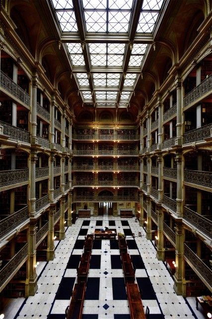 George Peabody Library Fm Forums
