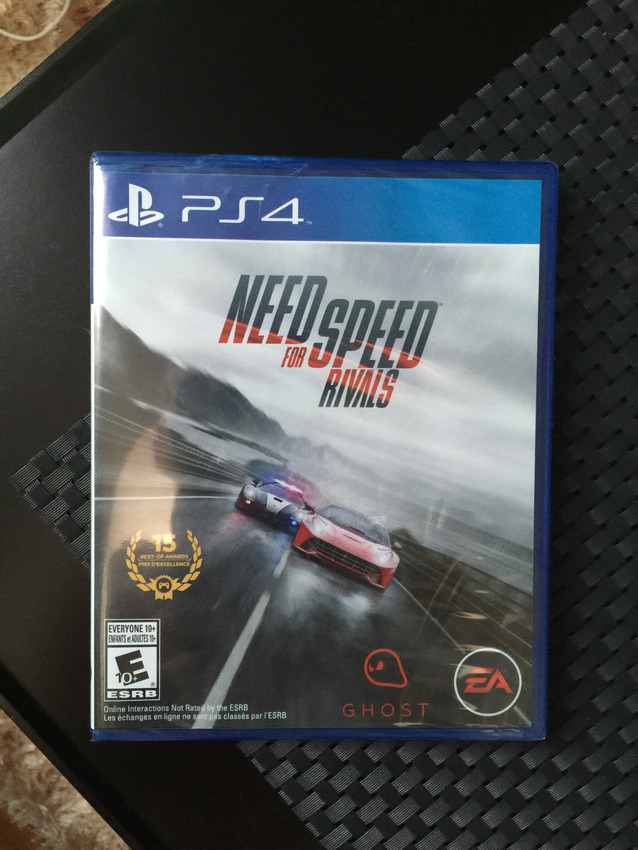 how to reset need for speed rivals ps4