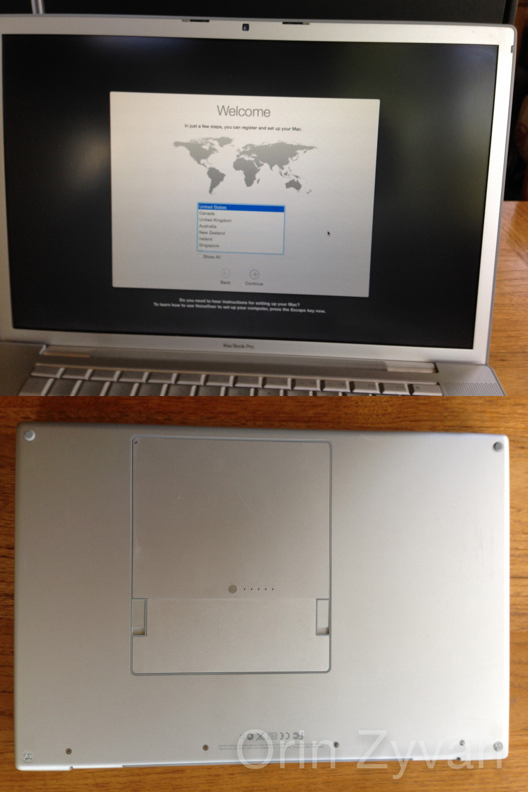 Sold 15 apple macbook pro laptop notebook mid 2007 for Apple book 300