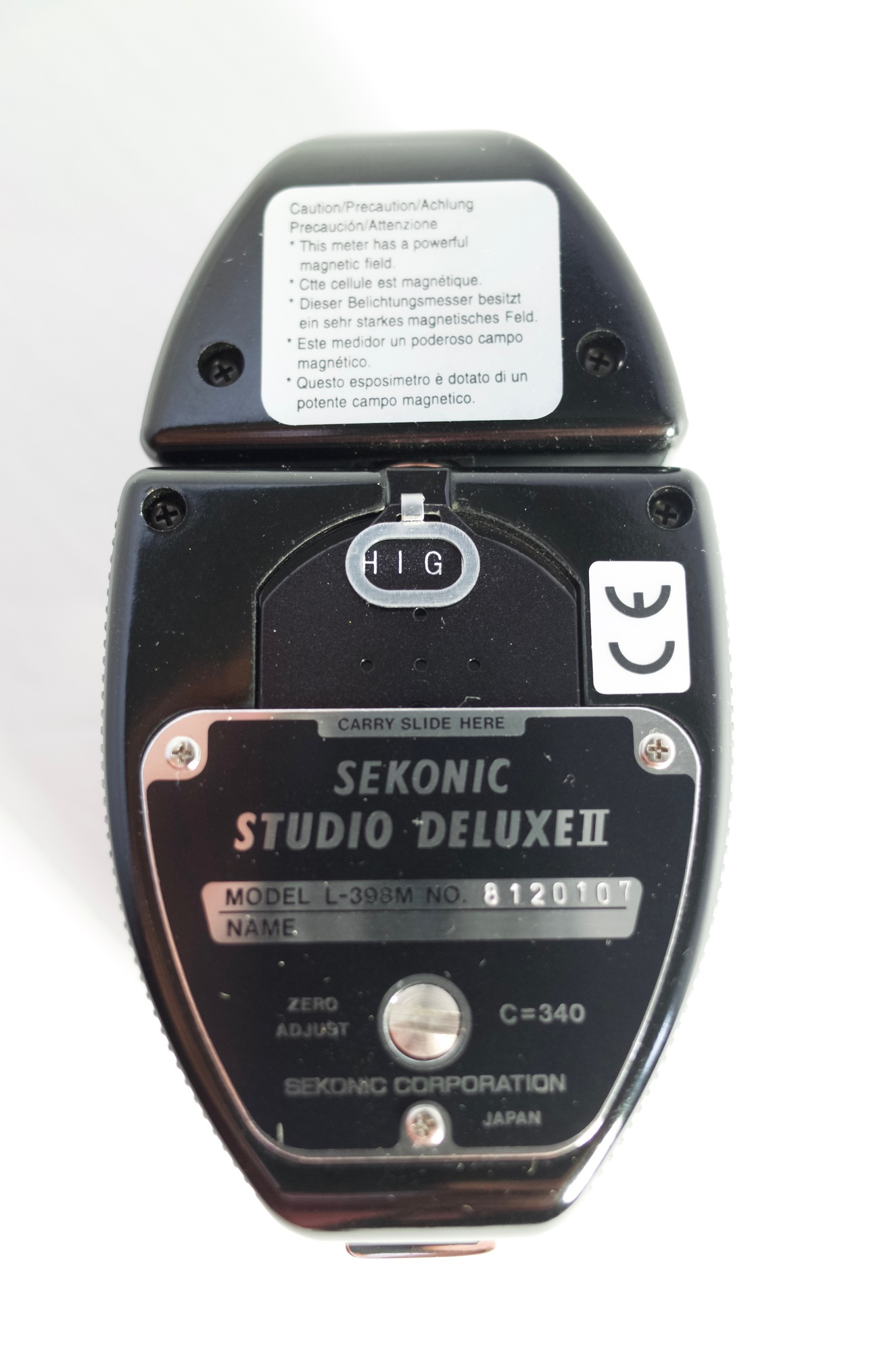 how to use sekonic l 398a
