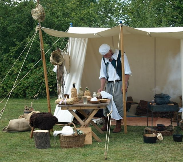 & English Civil War Cook Tent - FM Forums