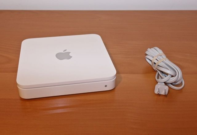airport time capsule instructions