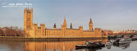 Houses of Parliament Pano at sunrise