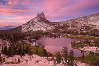 Upper Cathedral Lake Twilight
