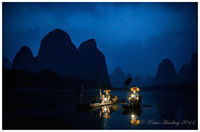 Cormorant Fishermen #1 - Guangxi, China
