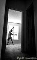 Like a Firefly to the Light...:Honorable Mention, Black & White Spider Awards: Nude