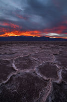 Panamint Range on Fire