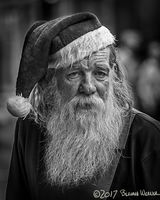 The Xmas Season Has Just Gotten Too Long: 2nd Place Merit of Excellence. Black & White Spider Awards: Portrait