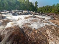 Sand River Cascades, Lake Superior