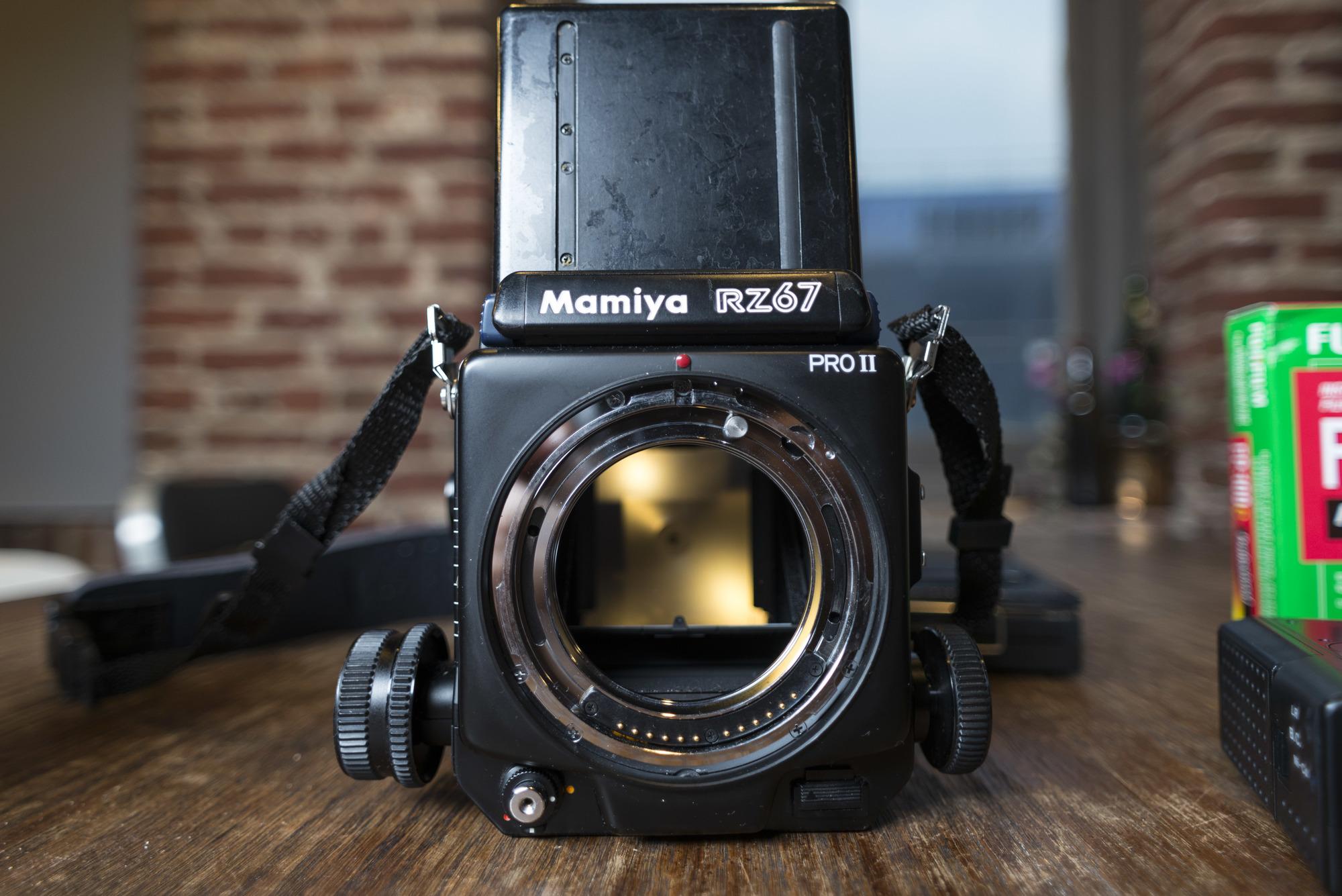 Sold: Mamiya RZ67 Pro II Kit + Lenses - FM Forums
