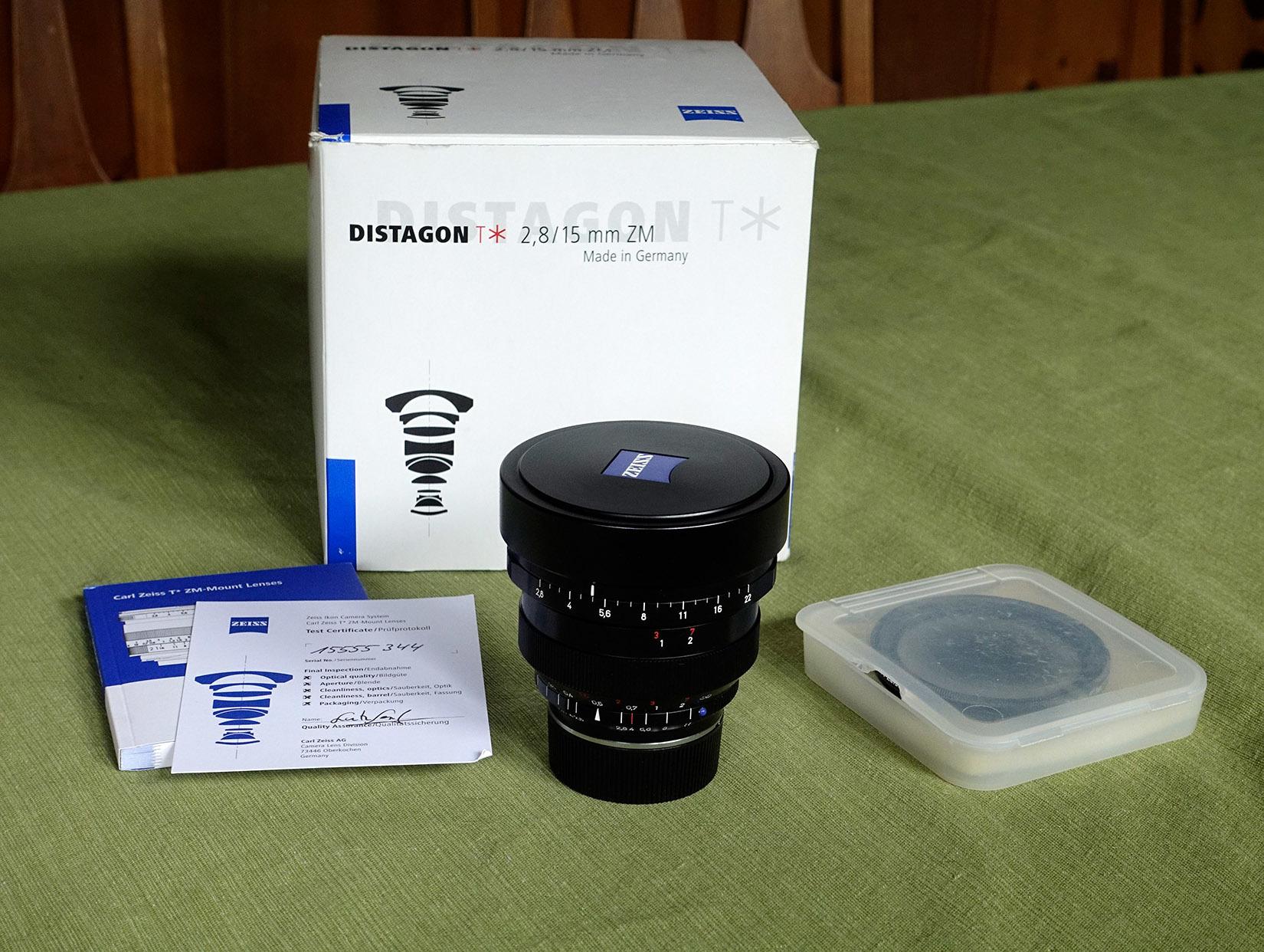 FS: Zeiss 15mm f2 8 Distagon ZM Leica M mount - FM Forums