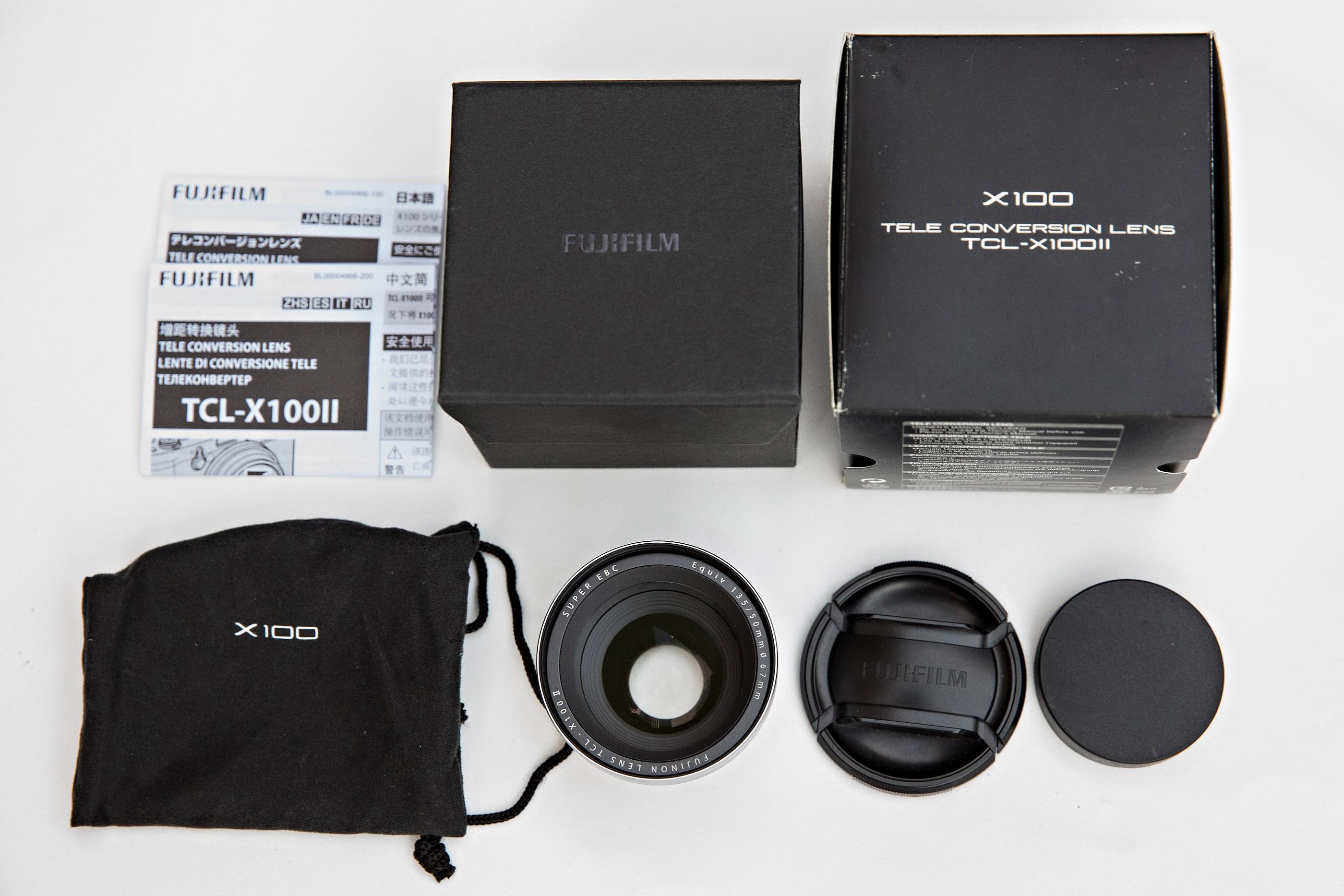 Sold: Fujifilm TCL-X100 II Tele Conv  Lens: $200 - FM Forums