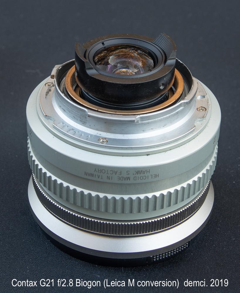 FS: Zeiss (Contax) G21 f/2 8 Biogon - Leica M conversion (Hawks