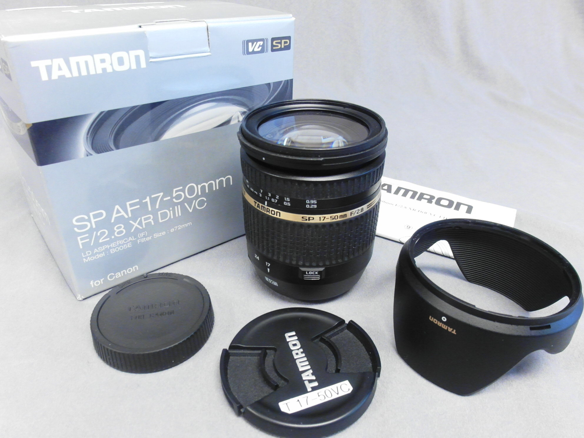 Sold Tamron 17 50mm Vc Canon Fm Forums For Sp Af F 28 Xr Di Ii Ld Aspherical If Mar 19