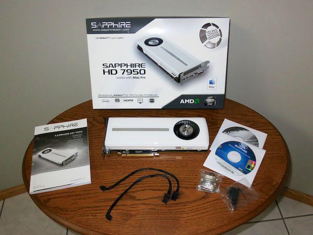 Sold: SAPPHIRE HD 7950 3GB GDDR5 MAC Edition Graphics Card