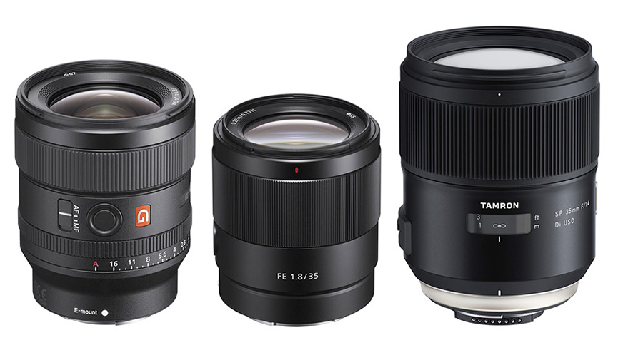 LensRentals: Sony FE 24mm f/1 4 GM & FE 35mm f/1 8 MTF tests